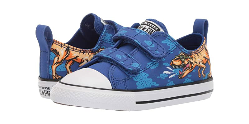 2. Converse Chuck Taylor All Star 2v Dinoverse Blue Low Top Sneaker