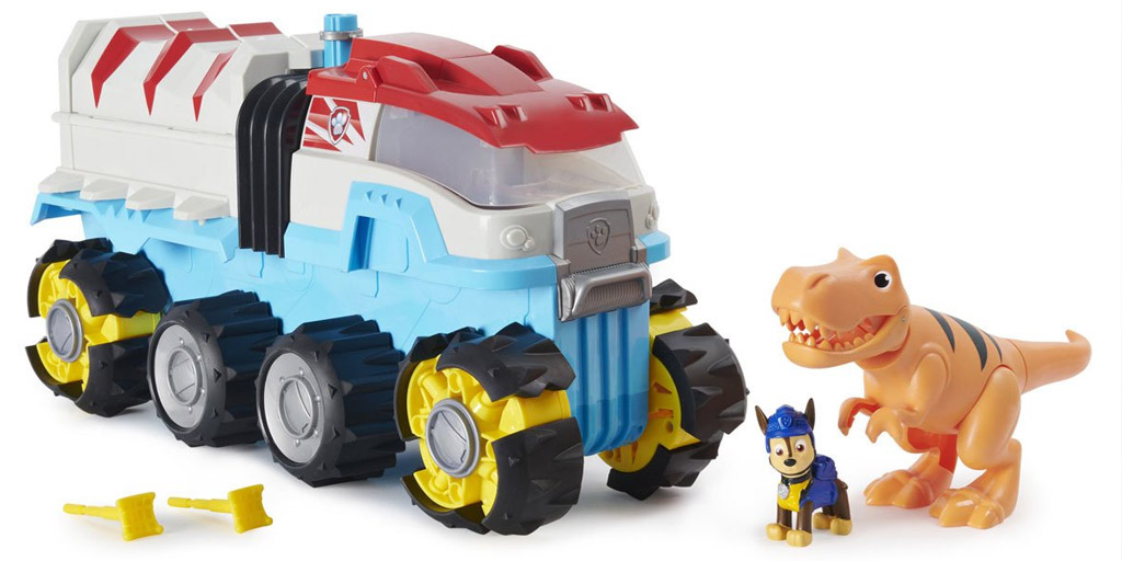 PAW patrol dino rescue play set makes it to walmarts top-rated by kids toy list 2020