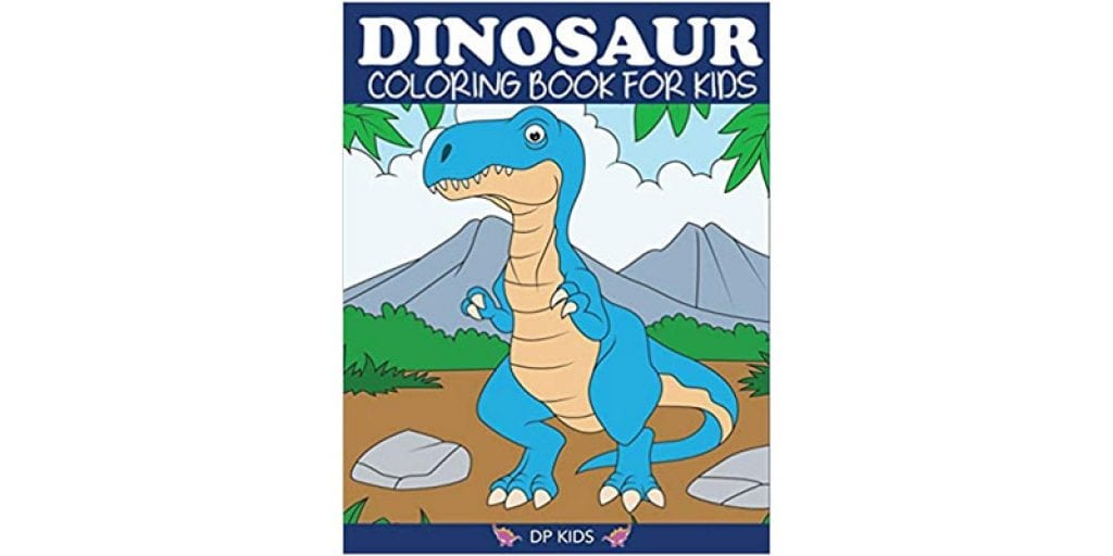 Dylanna Press Dinosaur Coloring Book for Kids