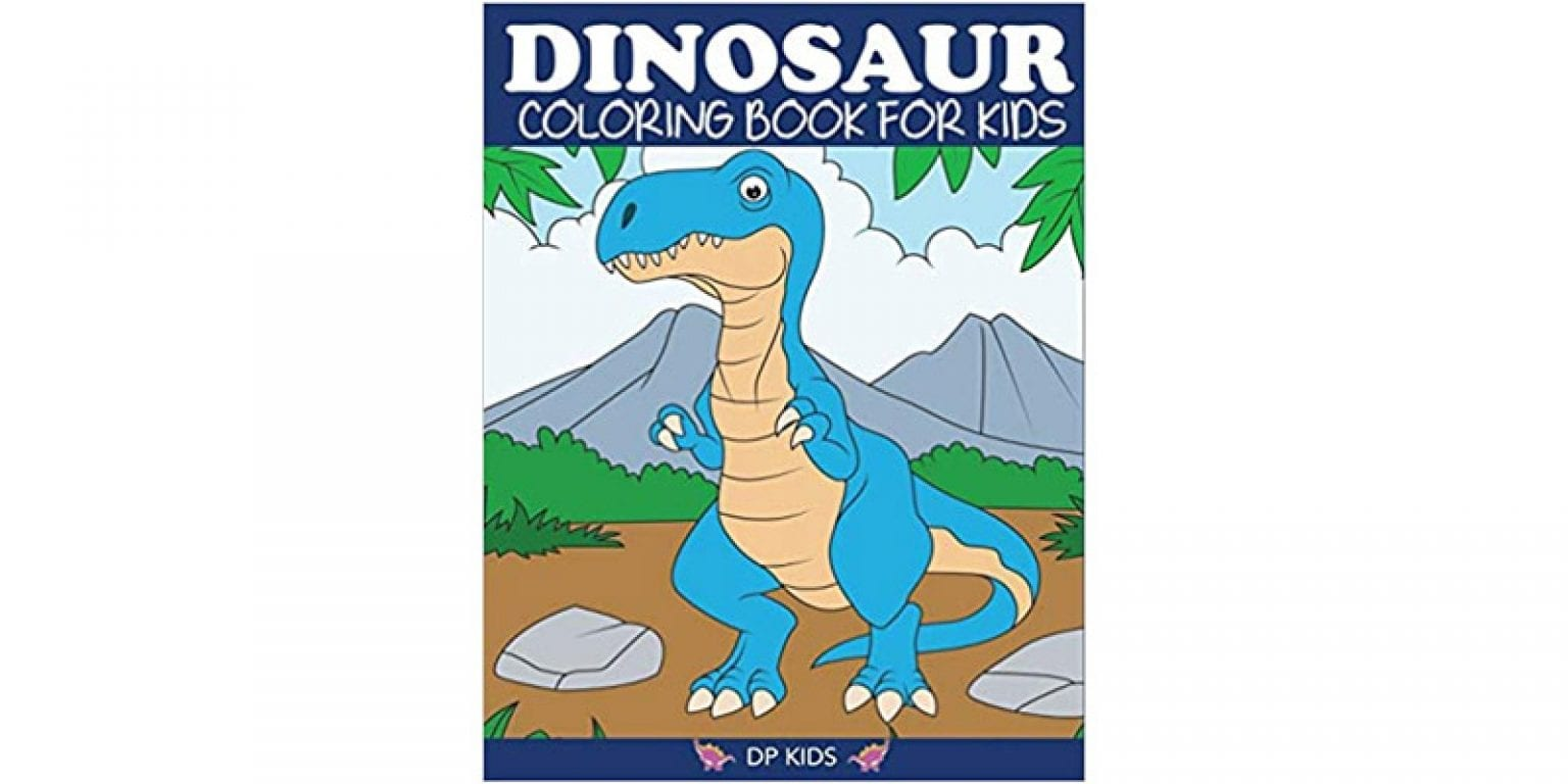2. Dylanna Press Dinosaur Coloring Book for Kids