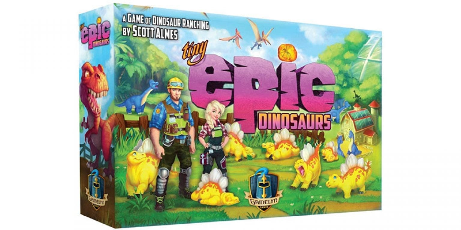 7. Gamelyn Games Tiny Epic Dinosaurs