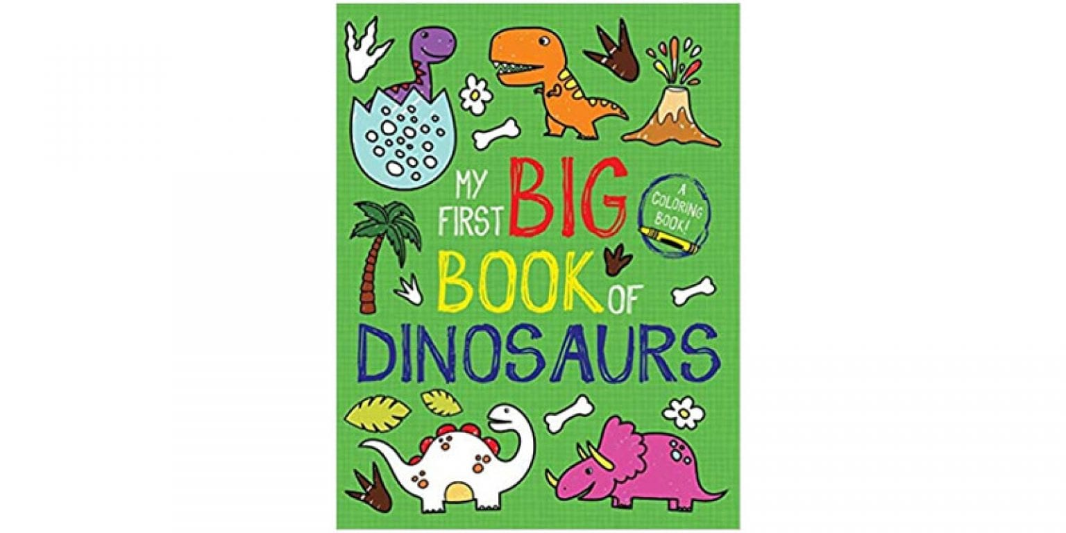 9. Little Bee Books My First Big Book of Dinosaurs
