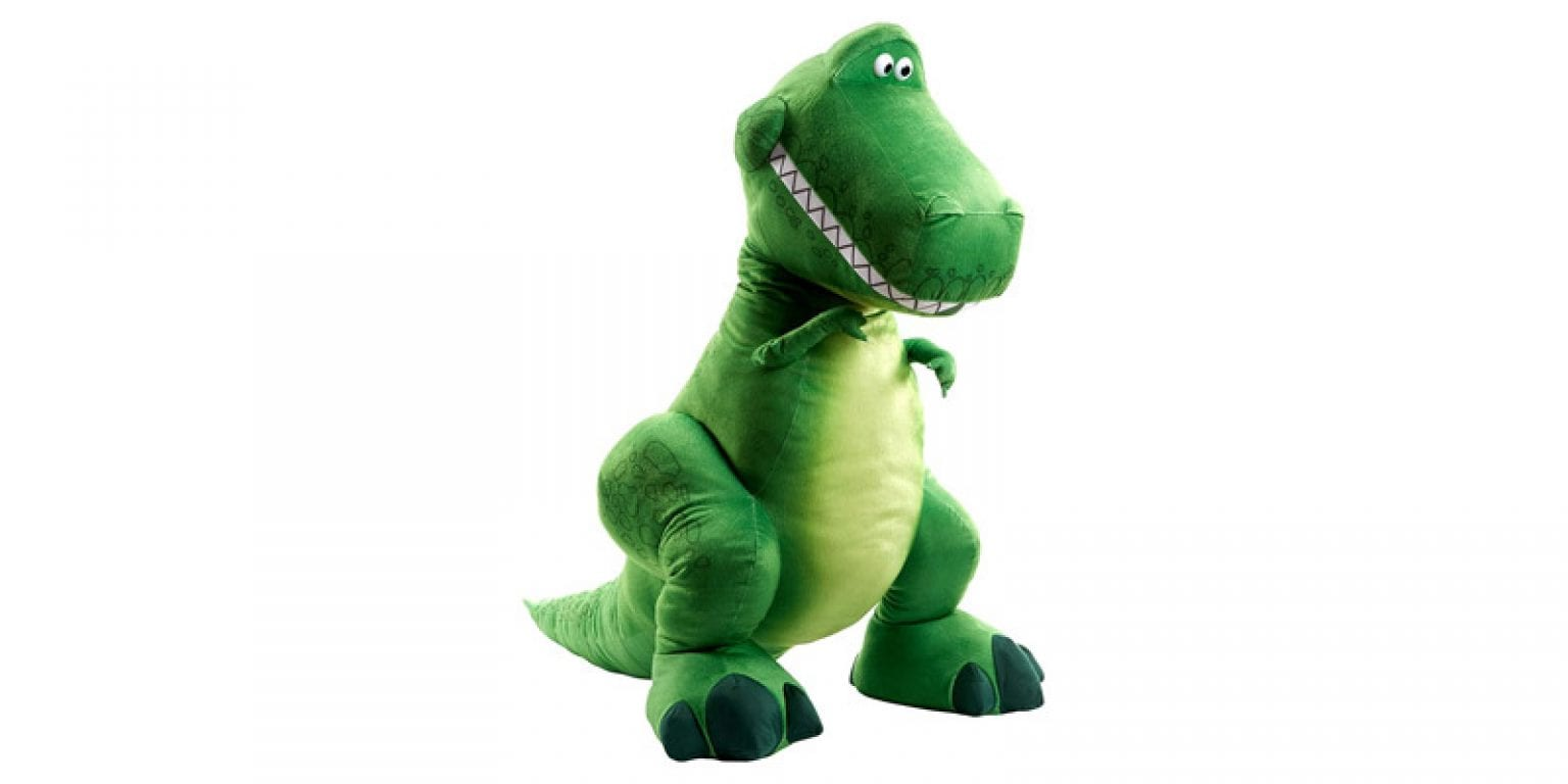 1. Toy Story 4 Ginormous Plush Rex