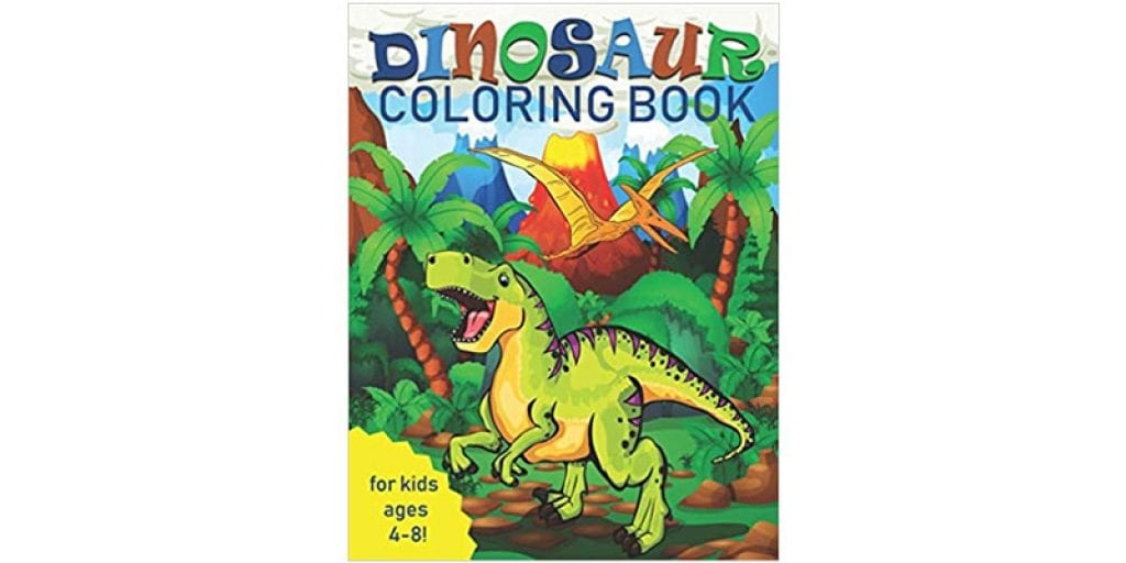 Two Hoots Coloring Dinosaur Coloring Book for Kids