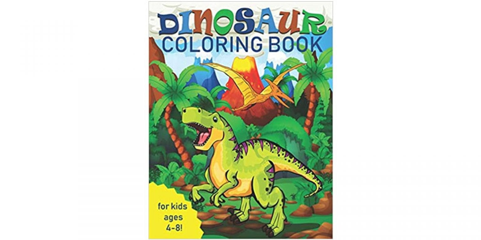 1. Two Hoots Coloring Dinosaur Coloring Book for Kids