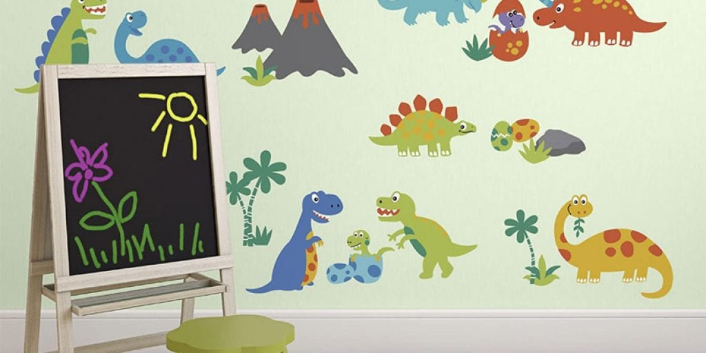 Best dinosaur wall decals
