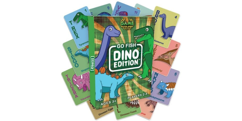 Game Accolades Go Fish Dino Edition Card Game