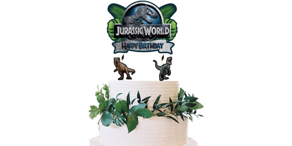 One Phoenix Jurassic World Cake Topper