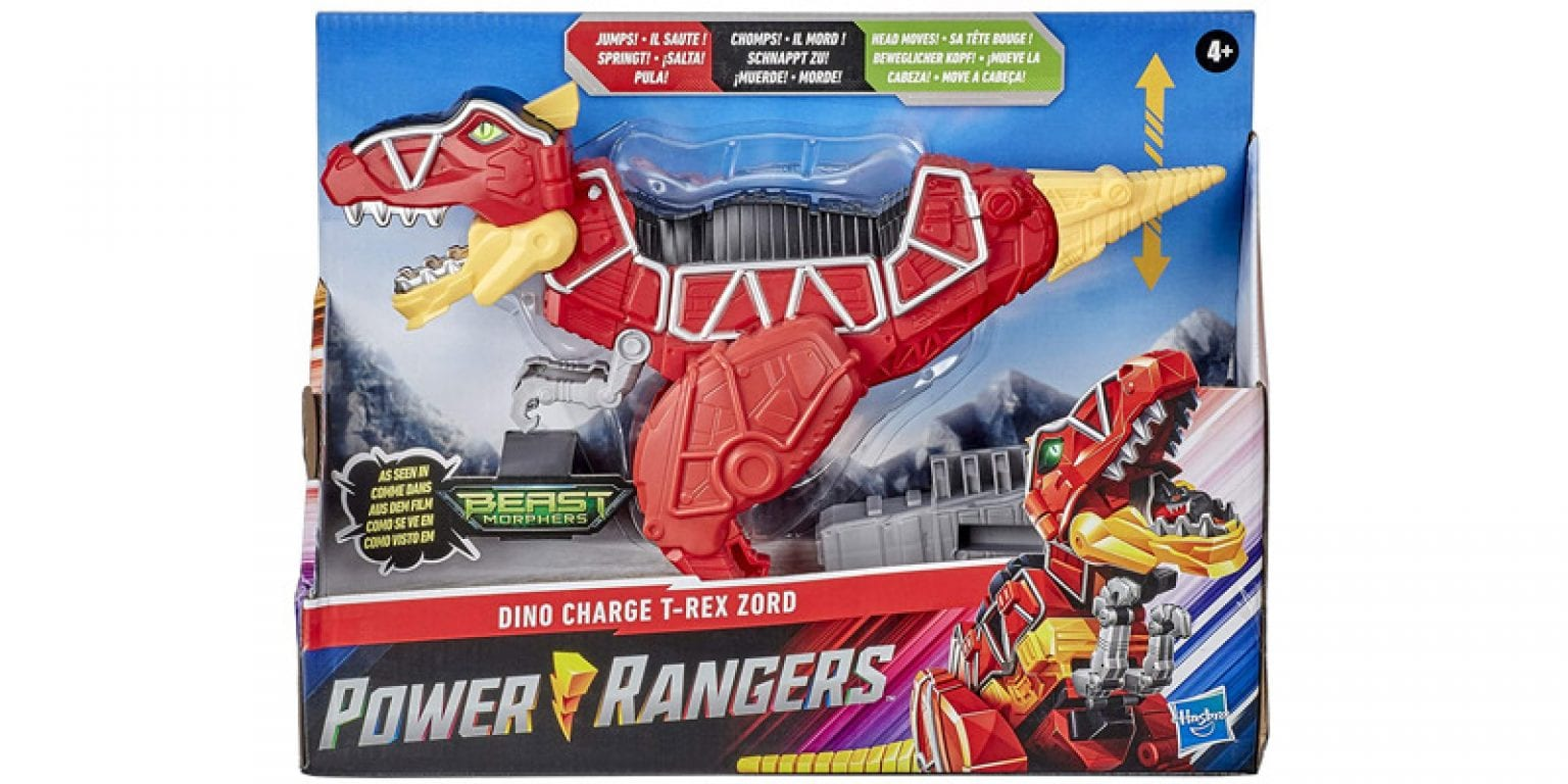 7. Power Rangers Dino Charge Beast Morphers T-Rex Zord