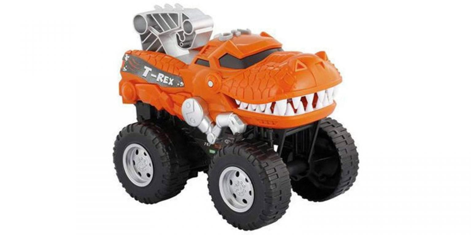 5. The Build Me Store Powerful Chomping Roaring T-Rex Monster Truck