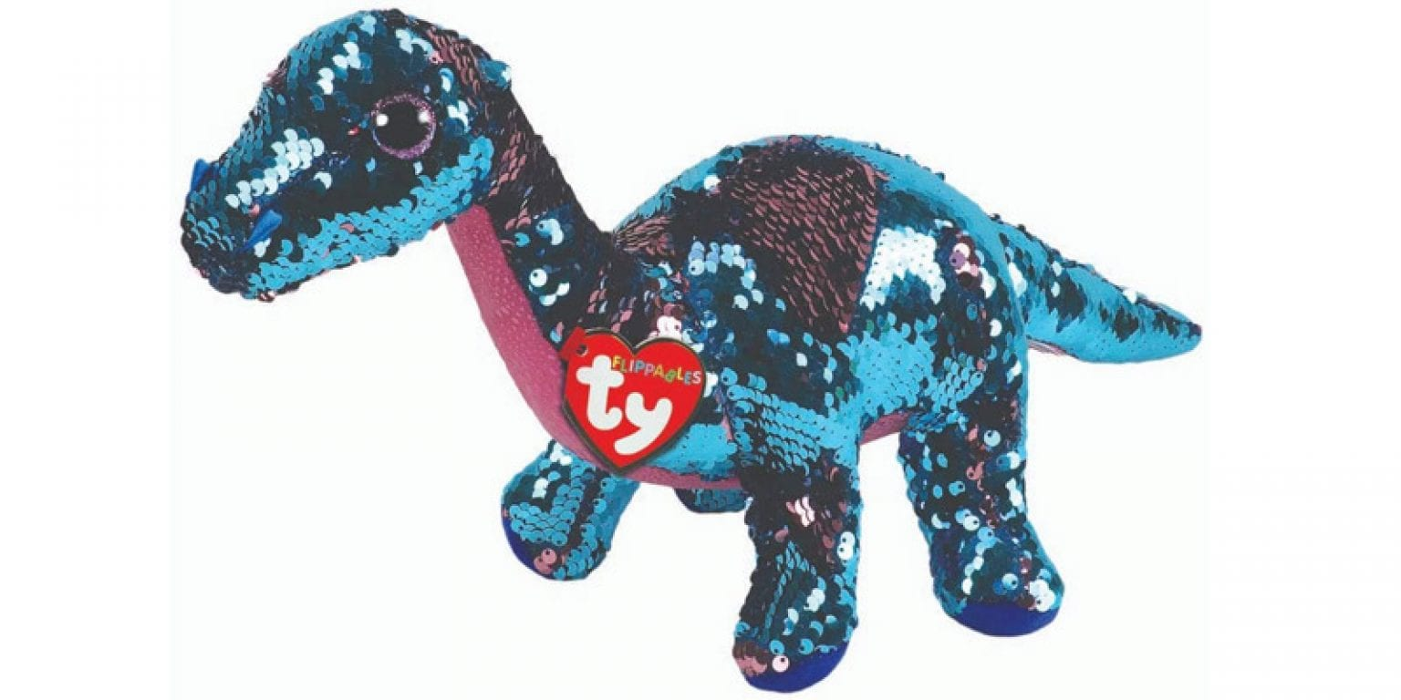 5. Ty Tremor Dino Sequin Flippable Boo