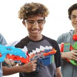 Nerf dinosaur-inspired blasters coming this spring, with DinoSquad collection release