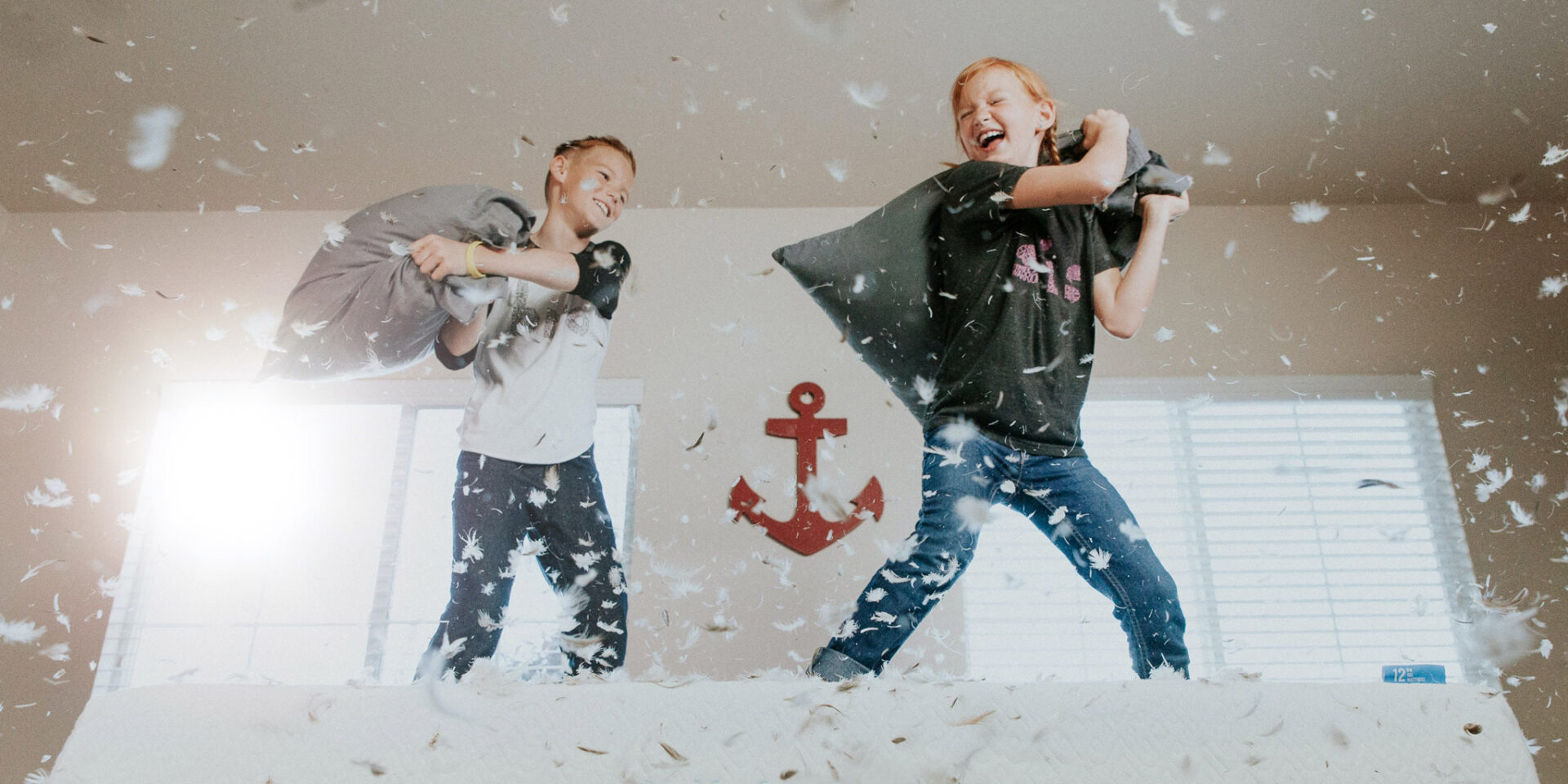 Stuck indoors with nothing to do? Here are 6 easy, fun ways to keep kids active at home