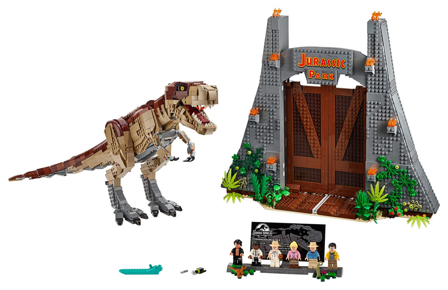 Biggest LEGO Jurassic Park so far set to retire later this year