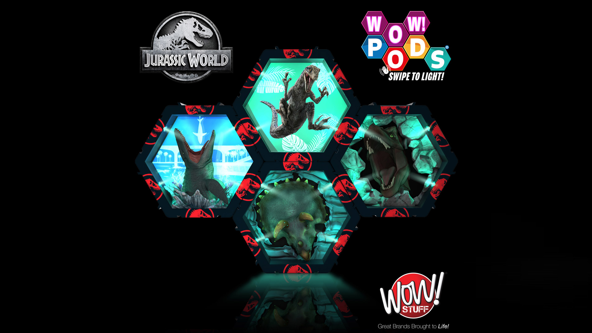 Wow! Stuff Announces All-new Jurassic World Product Line After Universal Brands Deal