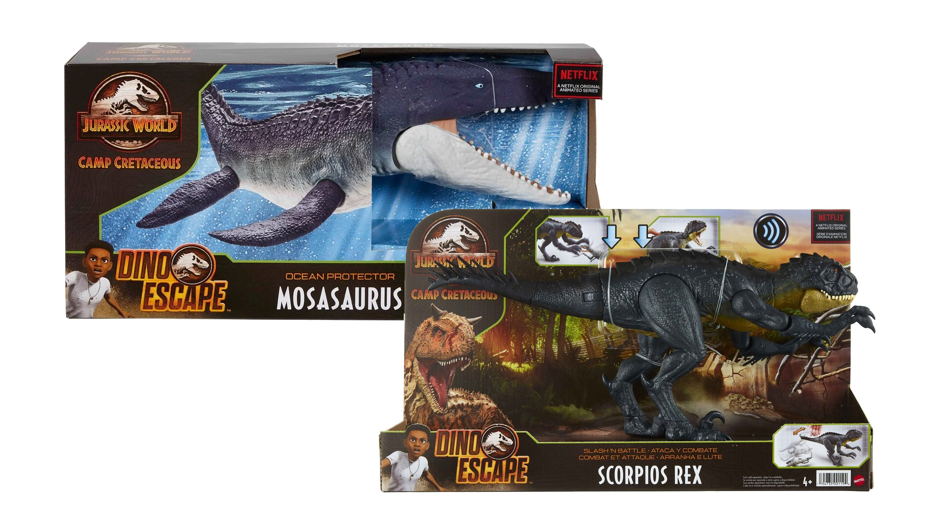 All-new Jurassic World: Camp Cretaceous Figures from Mattel Coming This Month
