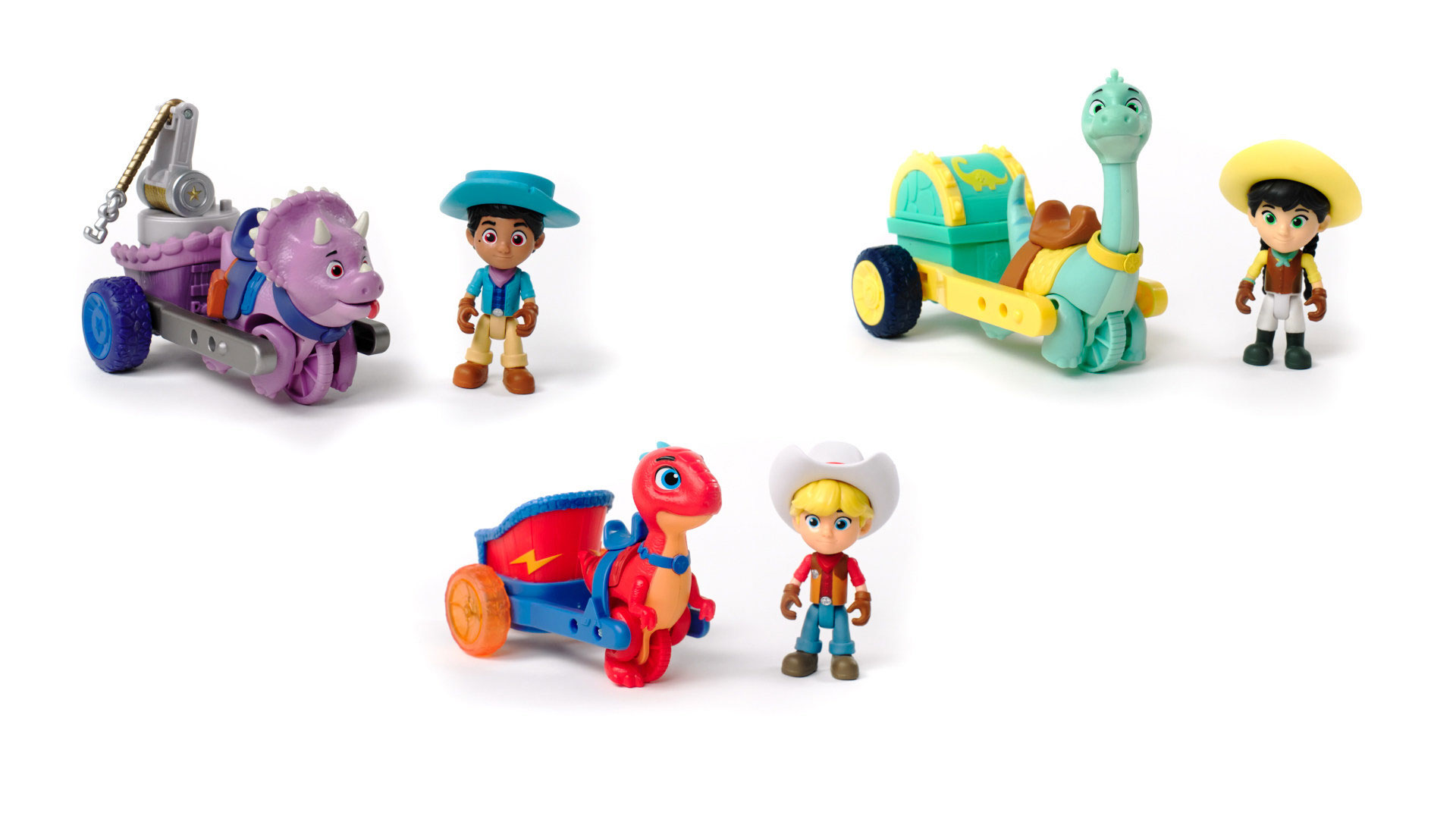 Dino Ranch Toy Line from Brand Jazwares Coming This Fall