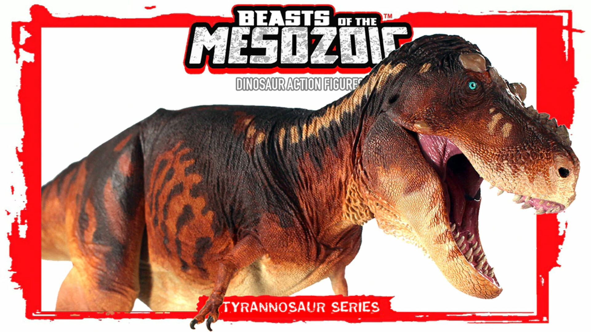 """Kickstarter Launched for Latest """"Beasts of the Mesozoic: Tyrannosaur"""" Action Figure Series"""