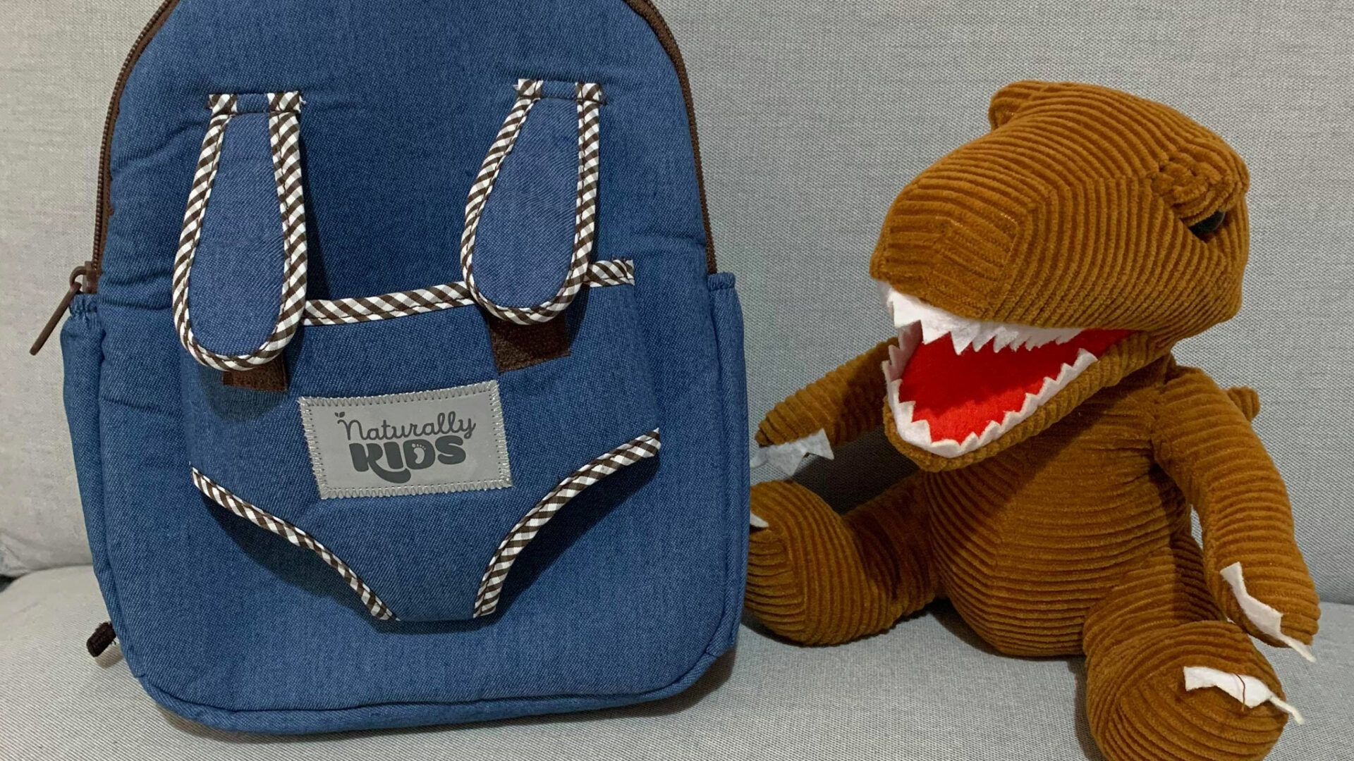 Product Review: Naturally KIDS Toddler Dinosaur Backpack with Plush Dinosaur Toy for Kids 3-5
