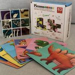 Product Review: Picasso Tiles Dinosaur Magnetic Puzzle Cube Sensory Toy Kit