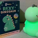 Product Review: Rexy the Original Dinosaur Night Light by BabyTimes